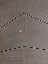 Двери квартирные, STRAJ, модель Angle, Prestige, коробка 145мм, MOTTURA 54.797 MATIC, девиатор, фото 2