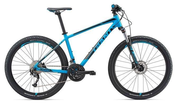 "Горный велосипед Giant Talon 3 GE 27.5"", синий M (GT)"