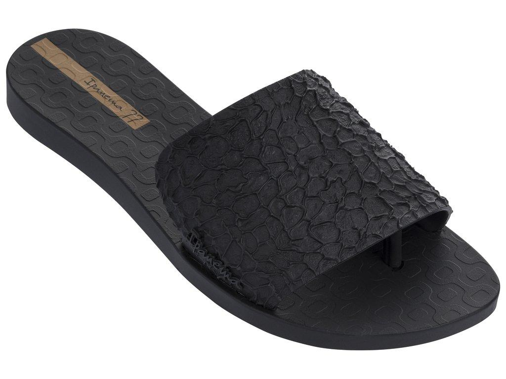 Оригинал Вьетнамки Женские 26314-20766 Ipanema Skin woman slipper black/black