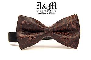 Детская галстук-бабочка i&m (00049k) Brown, фото 2