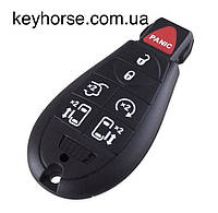 Смарт ключ для Dodge (Додж) 6 кнопки + 1 (panic), чип PCF7941, 433 MHz