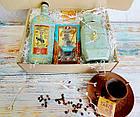 """Подарок для мужчин,подарочный набор """"Бронзовый остров"""" с медовухой и кофе, фото 4"""