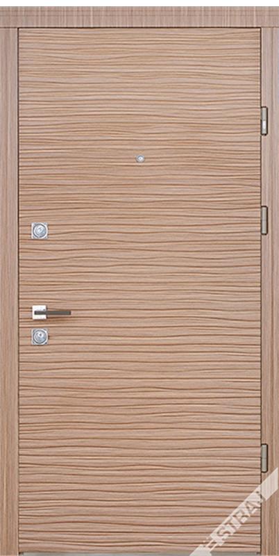 Двери квартирные, STRAJ, модель Brezza, Prestige, коробка 145мм, MOTTURA 54.797 MATIC, девиатор