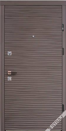 Двери квартирные, STRAJ, модель Brezza, Prestige, коробка 145мм, MOTTURA 54.797 MATIC, девиатор, фото 2