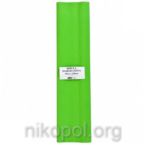 """Бумага гофрированная """"OK Office"""" 50х200см., светло-зеленая (№22)"""