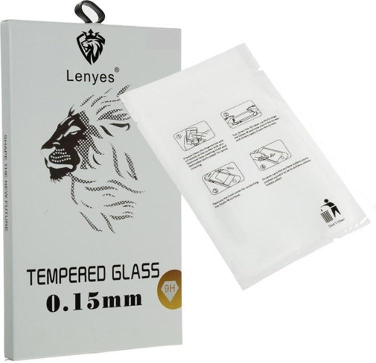Защитное стекло для iPhone 8 Прозрачное Lenyes (FullCaver)