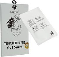 Защитное стекло для iPhone XR  Прозрачное Lenyes (FullCaver)