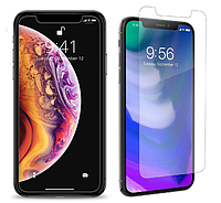 Защитное стекло для iPhone XS Прозрачное Lenyes (FullCaver)
