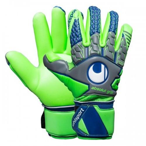 Вратарские перчатки Uhlsport Tension Green Supersoft (101108201) Оригинал
