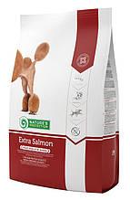 Корм Nature's Protection (Натур Протекшн) Extra Salmon для собак склонных к алергии с лососем 12kg