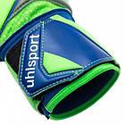 Вратарские перчатки Uhlsport Tension Green Supersoft (101108201) Оригинал, фото 4