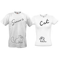 Парные футболки Simon's Cat