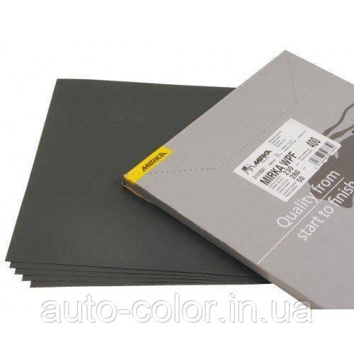 Абразивная водостойкая  бумага Mirka  230*280мм, P120