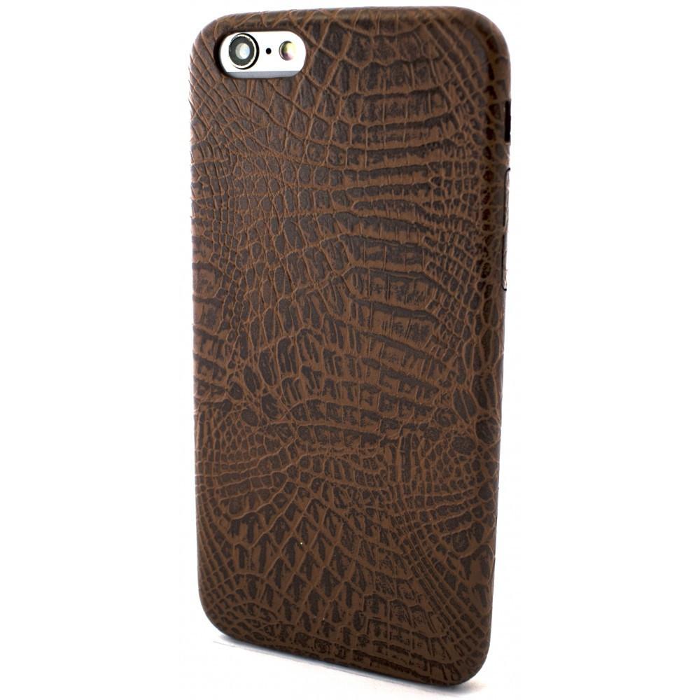 59053bc4ebaf0 Чехол накладка Leather Classic для Apple iPhone 6/6S, коричневый ...