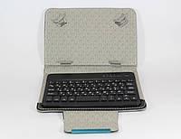 Чехол + KEYBOARD 7 Bluetooth, Обложка-чехол с клавиатурой блютуз, Чехол клавиатура беспроводная для планшета