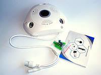 Камера потолочная CAMERA CAD 1317 VR 1.3mp\360*\dvr\ip, Мегапиксельная IP камера, Внутренняя наружная камера