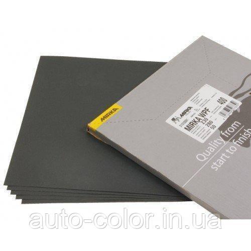 Абразивная водостойкая  бумага Mirka  230*280мм, P500