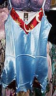 Ночная рубашка атласная №14 размер L (44-46)