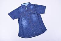 Шведка для мальчика котоновая (цв.т.синий) Роста в наличии : 122,128,134,140 арт.8702