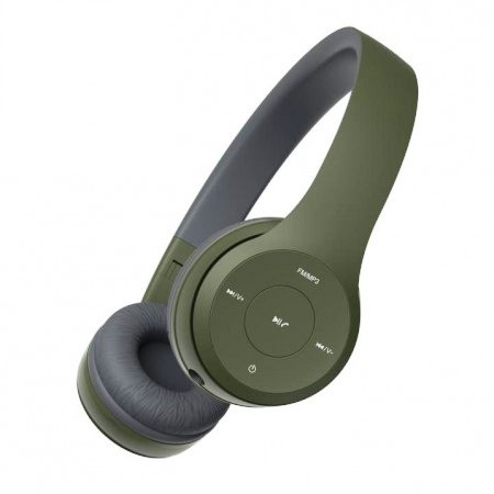 наушники HAVIT HV-H2575BT army green