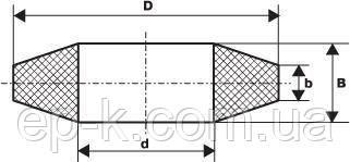 Кольцо МУВП К1 (10*19*5), фото 2