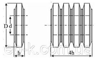 Кольцо МУВП К1 (10*19*5), фото 3