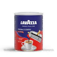 Кофе молотый Lavazza Crema e Gusto 250 г ж/б (Лавацца Крема Густо 250г)