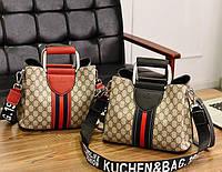 Стильная женская сумка. Модель 418, фото 9