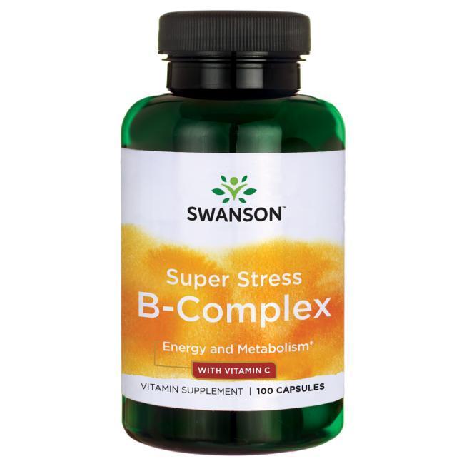 Витамины группы В + С , высокое содержание + холин, инозитол, ПАБК  100 капс