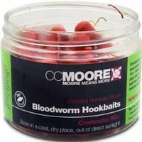 "Бойлы в бустере CC MOORE ""Bloodworm Hookbaits"" 10x14 мм. 50шт."