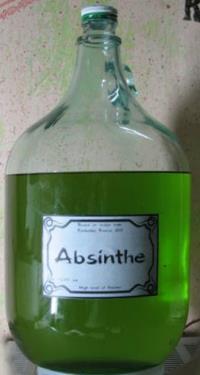 Вкусовой концентрат абсент на 100 литров готового напитка