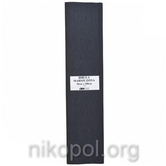 "Бумага гофрированная ""OK Office"" 50х200см., черная (№30)"