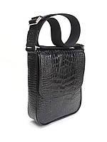 9515a37bab28 Кожаная черная сумка Crossbody Mykhail Ikhtyar 6733, цена 3 135 грн ...
