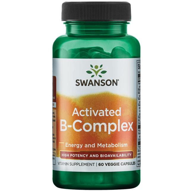 Swanson Ultra High Potency Activated B-Complex High Bioavailability 60 капс