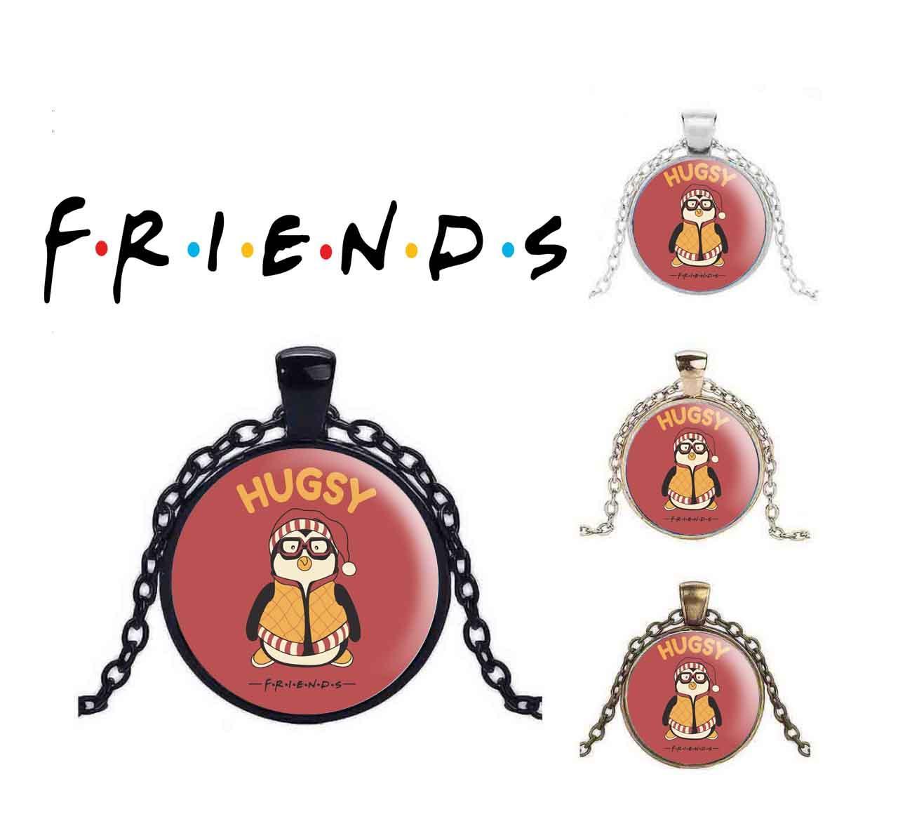 "Кулон Друзья/Friends ""HUGSY"""