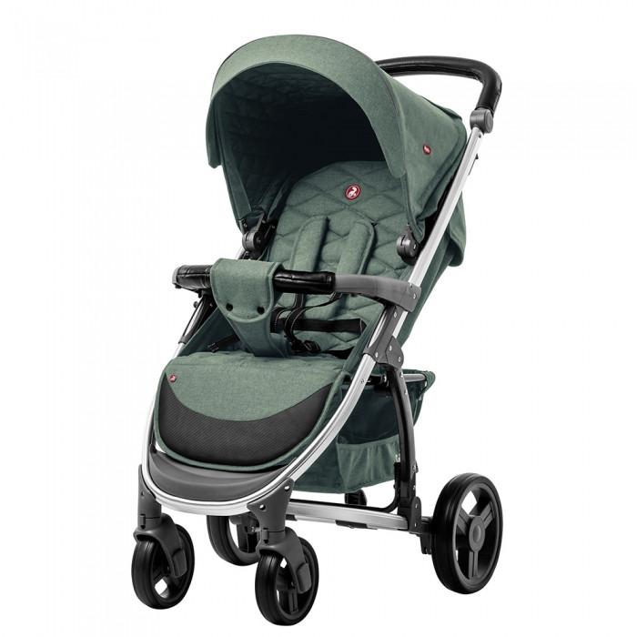Коляска прогулочная CARRELLO Vista CRL-8505 ткань лён Olive Green + Дождевик Гарантия качества