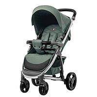 Коляска прогулочная CARRELLO Vista CRL-8505 ткань лён Olive Green + Дождевик Гарантия качества, фото 1