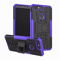 Чехол Armor Case для Huawei Y7 Prime 2018 Фиолетовый