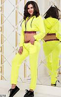Женский спортивный костюм летний трикотаж 42-46 размеров, 2 цвета