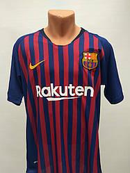 Форма в стилі Nike доросла Barcelona сезон 2019 синьо-гранатова