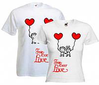 Парные футболки Любовь Навсегда, фото 1