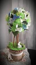Весняне дерево достатку (топіари)