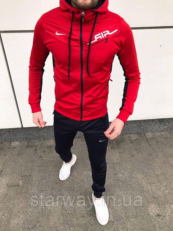 Спортивный костюм на молнии Nike с капюшоном   air   топ качества