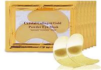 Коллагеновая маска для кожи вокруг глаз crystal collagen gold eye mask | золотые патчи под глаза