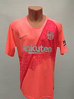 Форма в стиле Nike взрослая Barcelona резервная розово-красная сезон 2019
