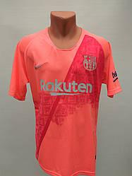 Форма в стиле Nike взрослая Barcelona резервная розово-краснаясезон 2019