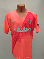 Форма в стилі Nike доросла Barcelona резервна рожево-червона сезон 2019