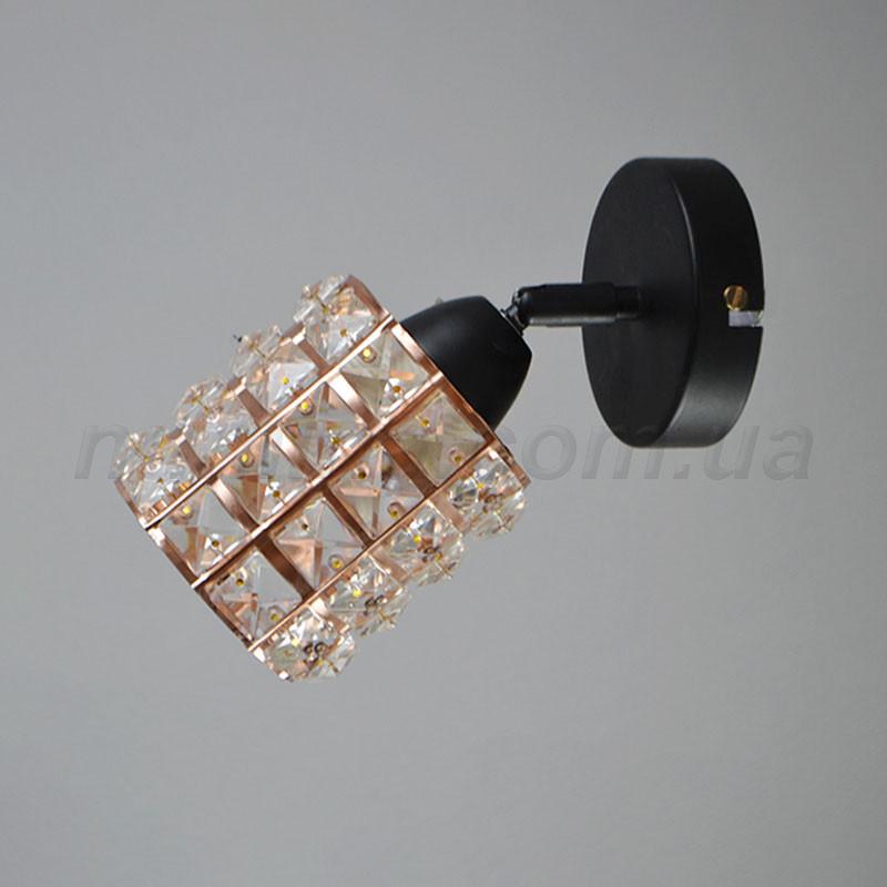 Бра на одну лампу 29-C596/1A WPKGD+BK