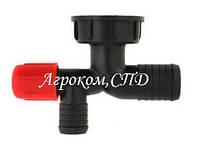 Колено сливное AP14KS фильтра [AGROPLAST] 32 мм