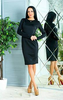 Женское платье, трикотаж, размер 46-48